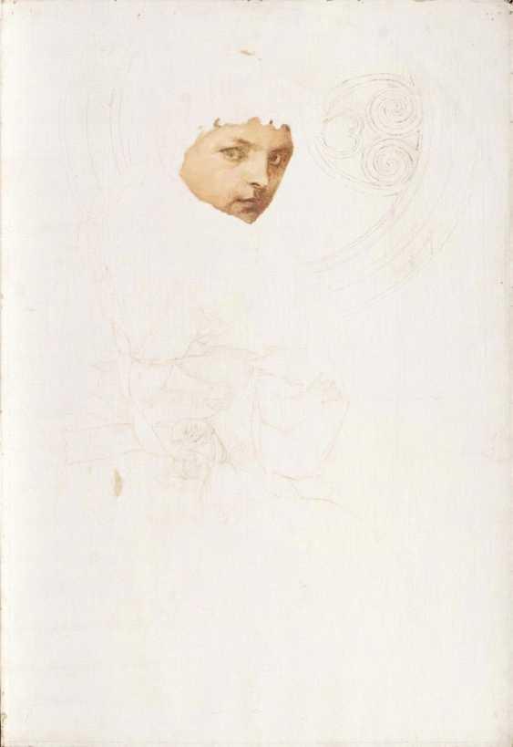 Woman portrait, unfinished - photo 1