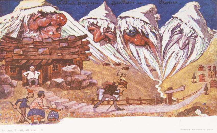 Five Mountain Post Cards - photo 1