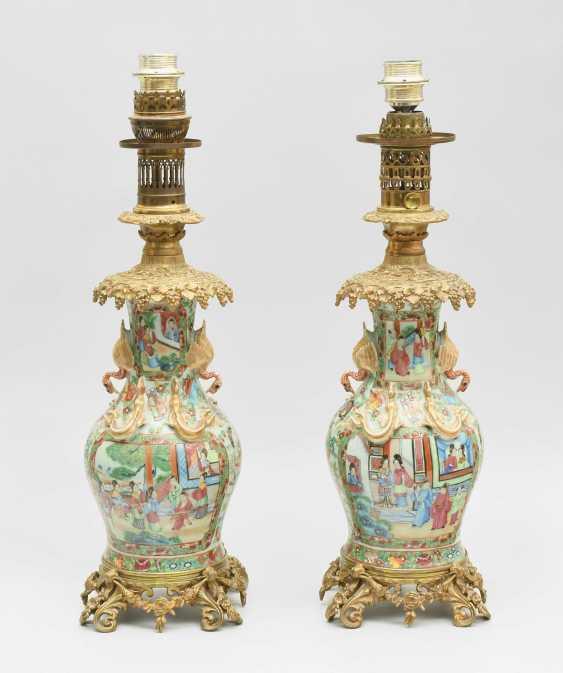 1 Pair of vases as lamp feet - photo 1
