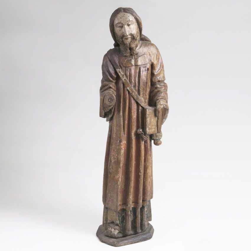 Gothic statue of a pilgrim 'Hl. Jakobus d. Ä.' - photo 1