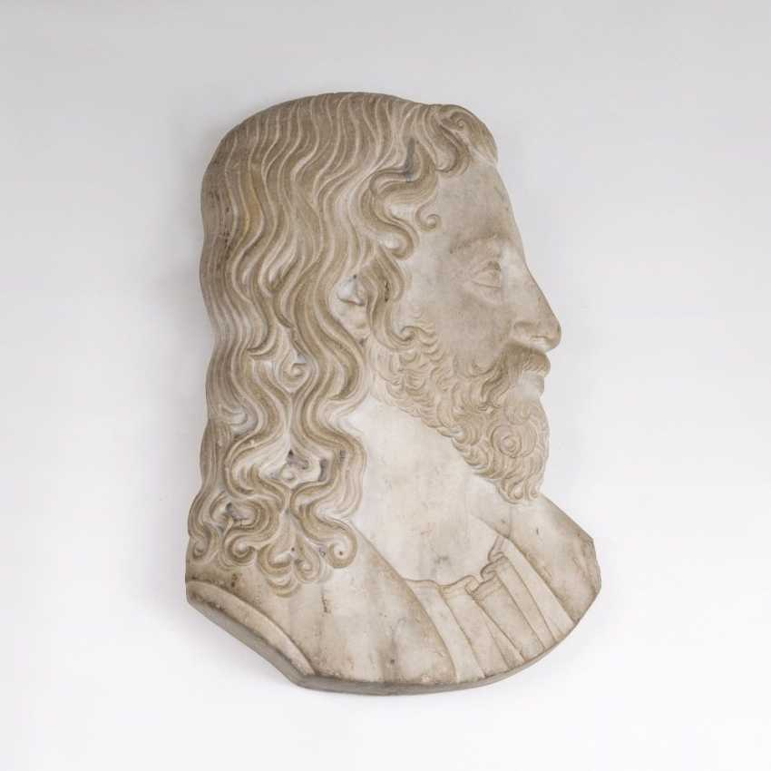 Bedeutendes Renaissance-Relief 'Christus der Erlöser' - photo 1