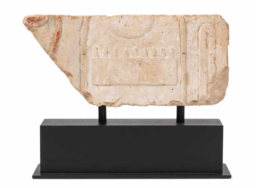 Relieffragment von Thutmosis III - photo 1