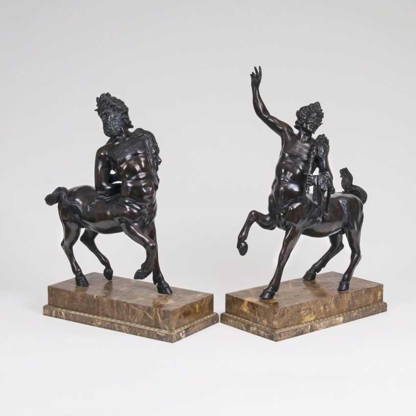 Paar imposanter Figuren 'Furietti-Kentauren' - photo 1