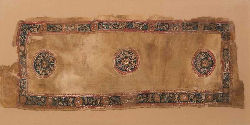 Coptic Textile Fragment - photo 1