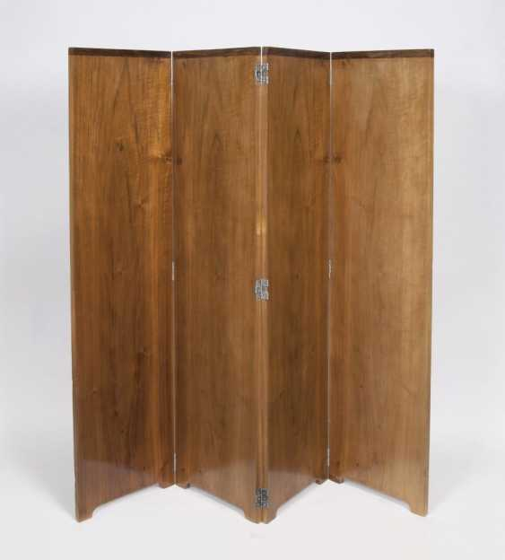 Rare four-piece Art-Deco folding screen - photo 1