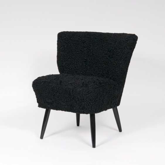 Mid-Century Sessel mit Persianer-Bezug - photo 1