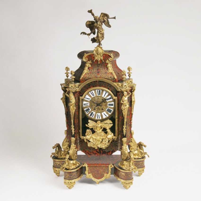 Large, ornate Napoleon III pendulum clock: - photo 1
