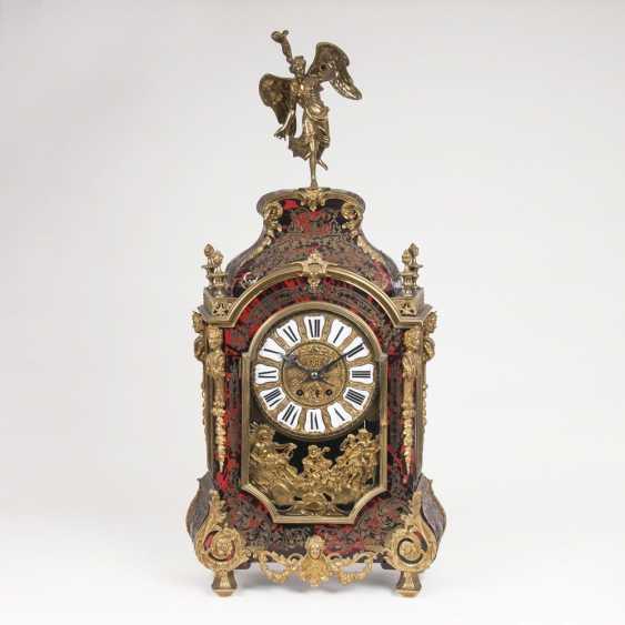 Large Napoleon III pomp pendule with Nike character - photo 1