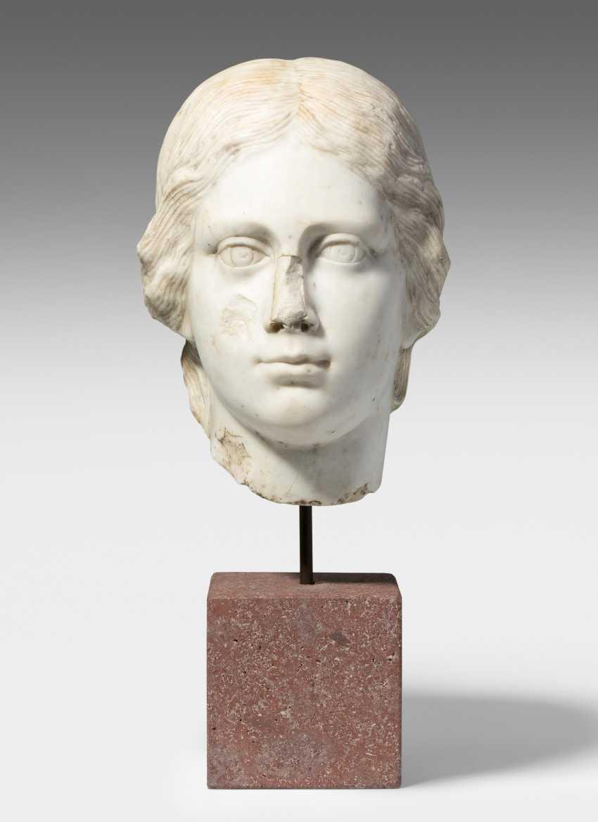 Woman's head - photo 1