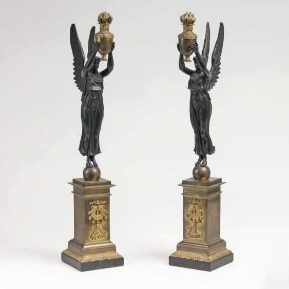 Pair of caryatids in Empire style - photo 1