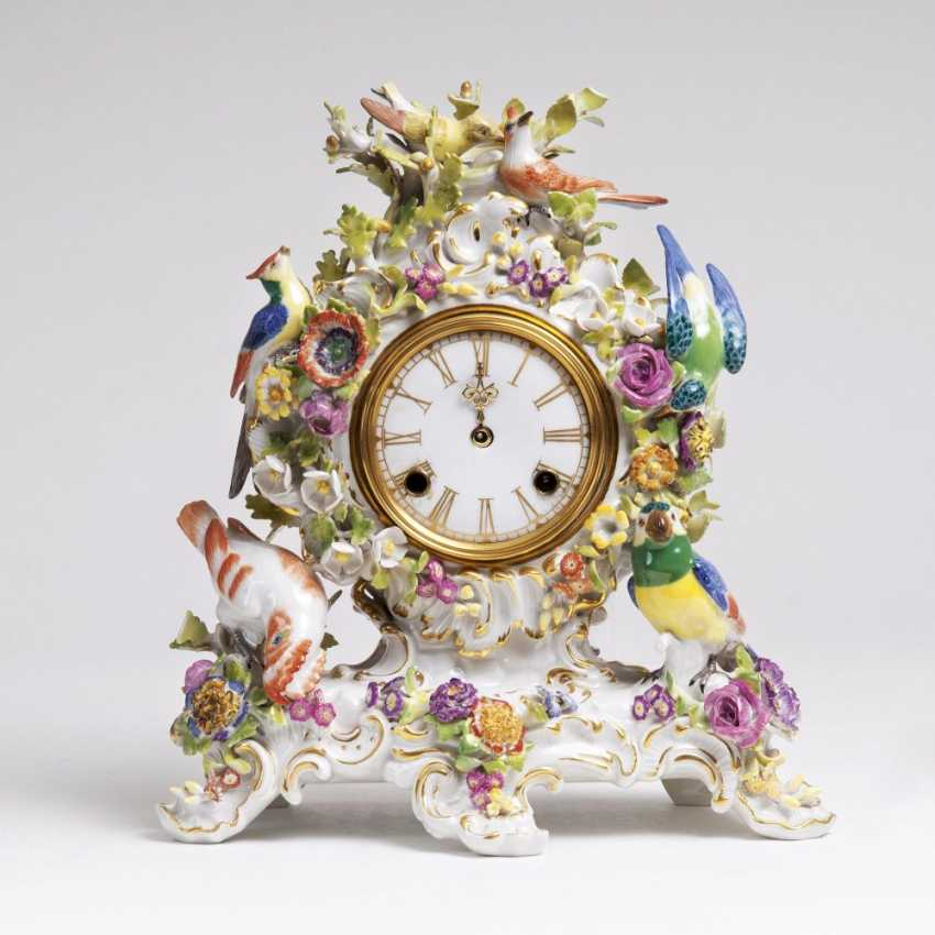Small pendulum clock with birds - photo 1