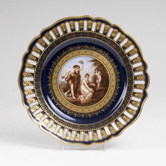 Fine image-plate with a mythological scene after Angelica Kauffmann - photo 1