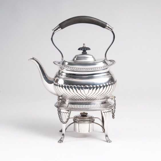 English teapot on a chafing dish - photo 1