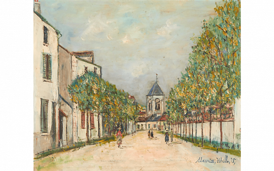 MAURICE UTRILLO (1883-1955) - photo 1