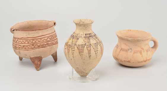 Lot: 3 Luristan Vessels - photo 1