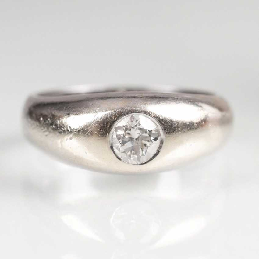 Solitaire Band Ring - photo 1