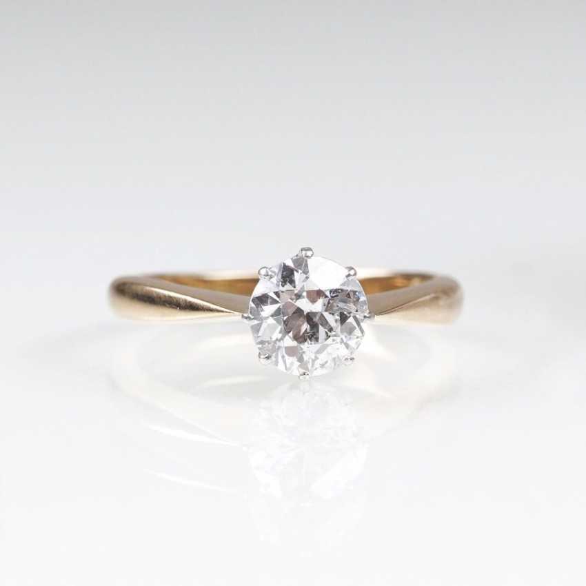 Diamond-Solitaire-Ring - photo 1