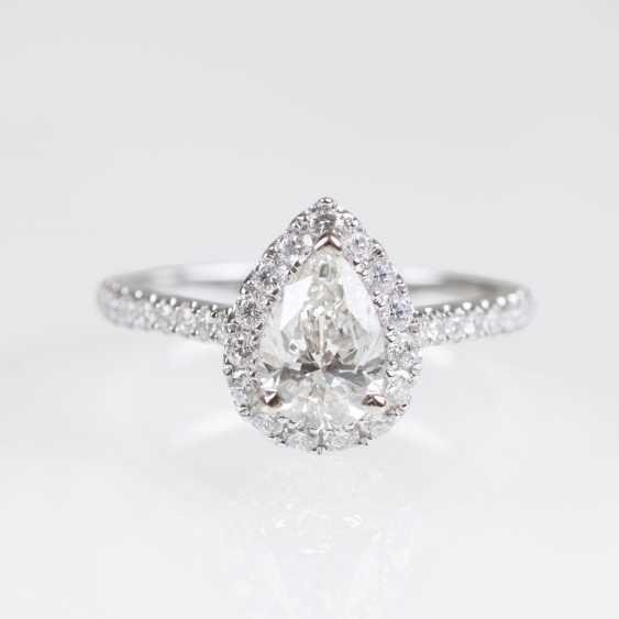 Solitaire Diamond Ring - photo 1