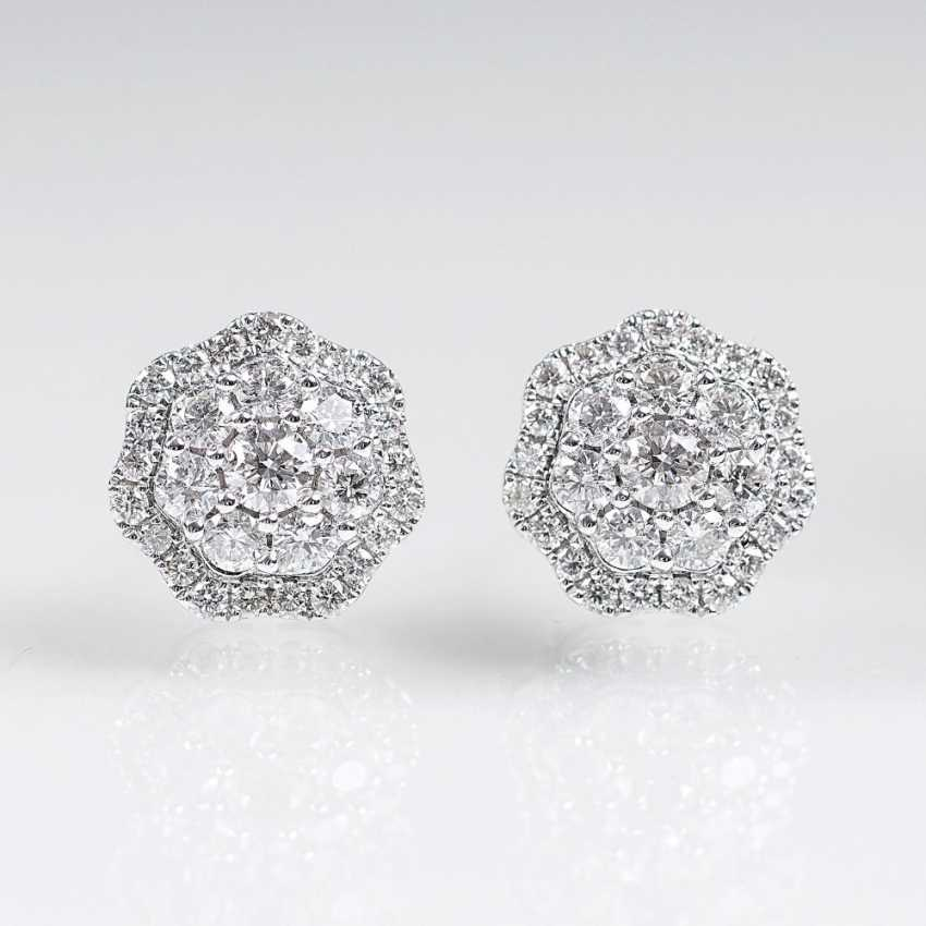 Pair Of Brilliant Stud Earrings - photo 1