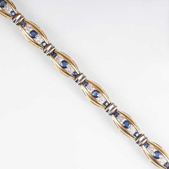 Saphir-Brillant-Armband - photo 1