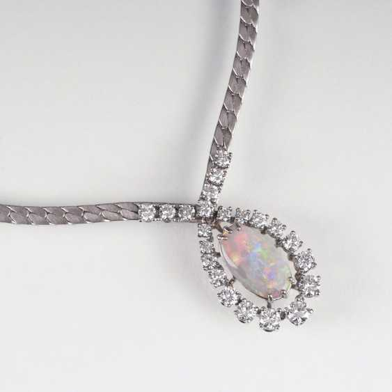 Vintage Opal-Brillant-Collier - photo 1