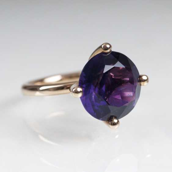 Moderner Amethyst-Ring - photo 1