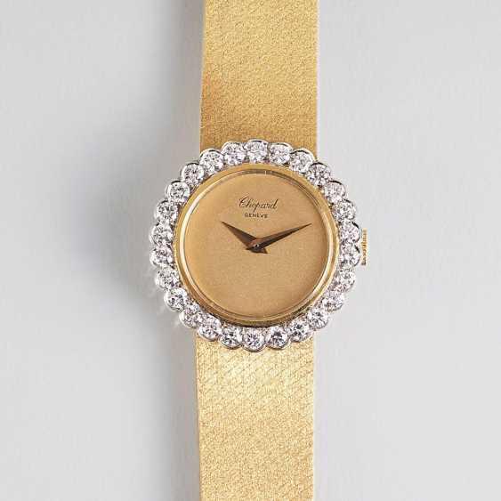 Ladies wrist watch with fine white brilliant-trim - photo 1