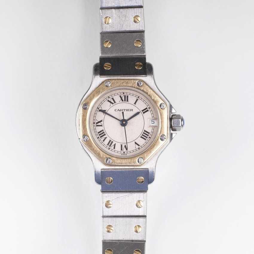 Damen-Armbanduhr 'Santos Ronde' - photo 1
