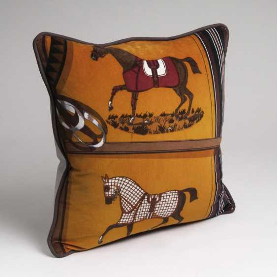 Exclusive pillow from Hermès decorative fabric - photo 1