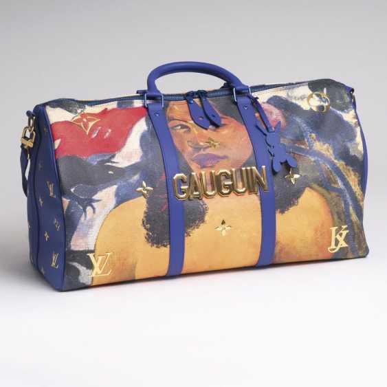 Ikonische Masters LV x Koons Keepall 50 'Gauguin' - photo 1