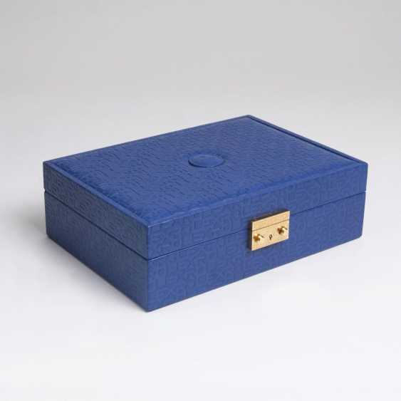 Rolex watch and jewelry case in Blue - photo 1