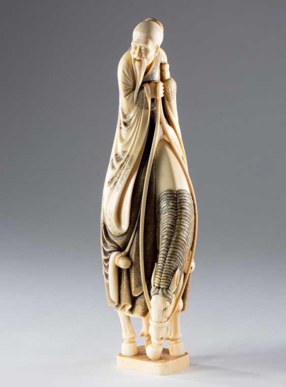Large Ivory Figure - photo 1