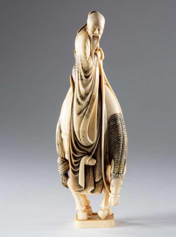 Large Ivory Figure - photo 2