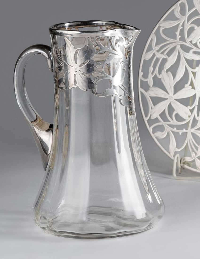 Carafe made of glass - photo 1