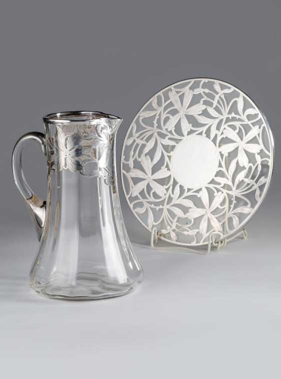 Carafe made of glass - photo 2
