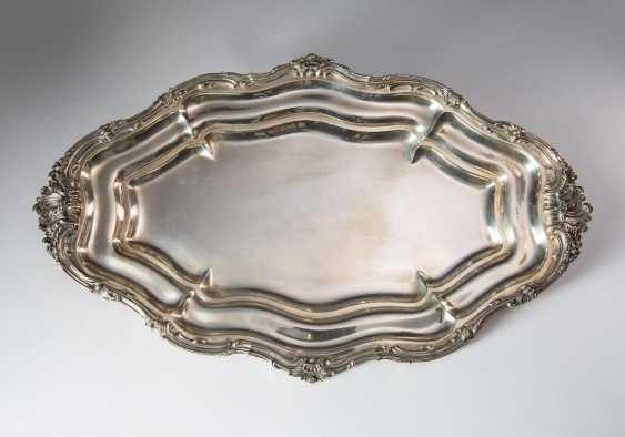 Large oval plate - photo 2