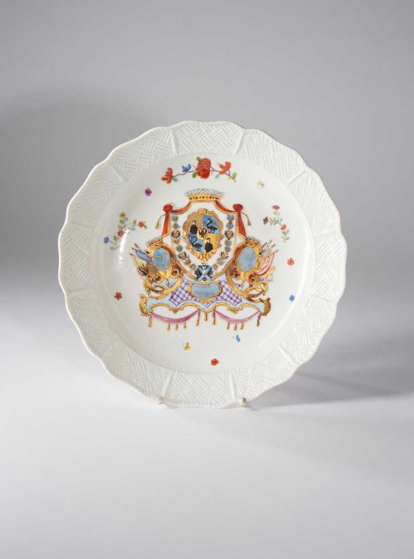Rare bowl from the Service of count Munnich. - photo 1