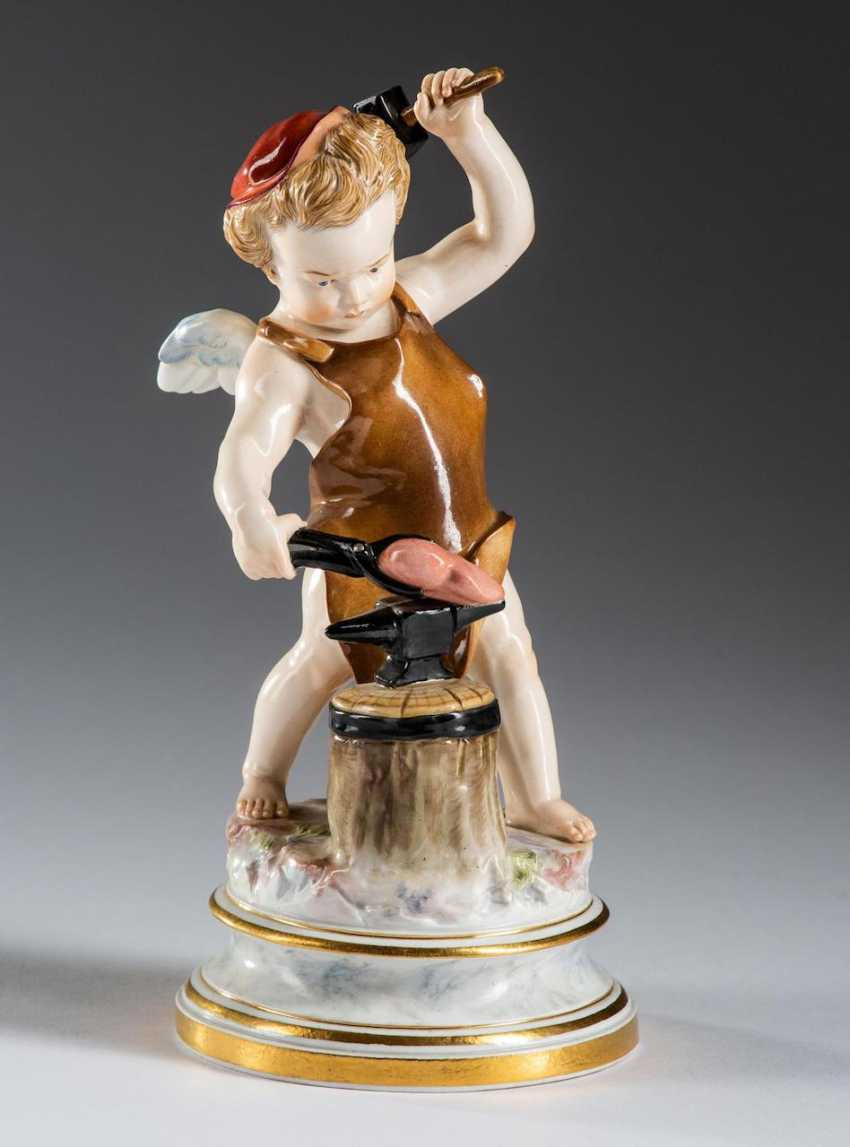 "Cupid ""The Blacksmith"", - photo 1"
