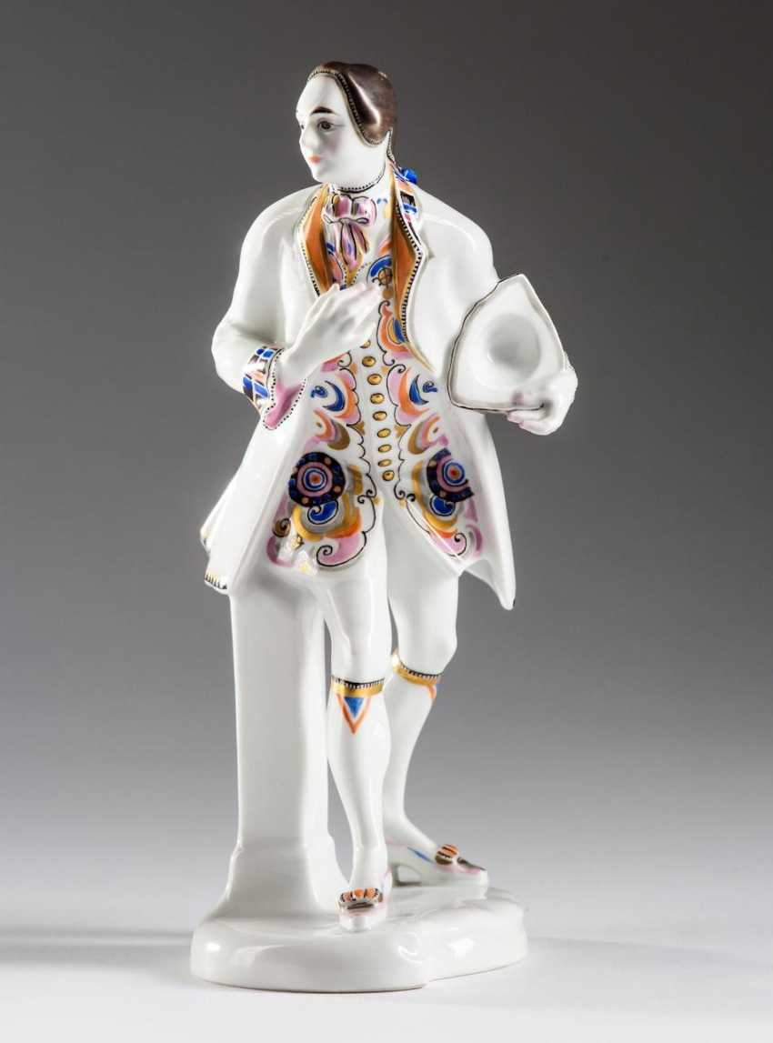 "KPM figurine ""The cavalier"" - photo 1"