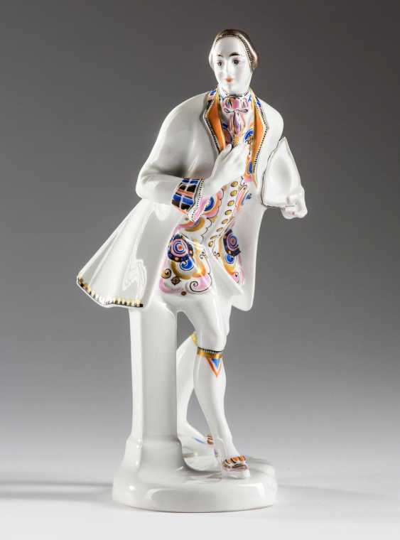 "KPM figurine ""The cavalier"" - photo 2"