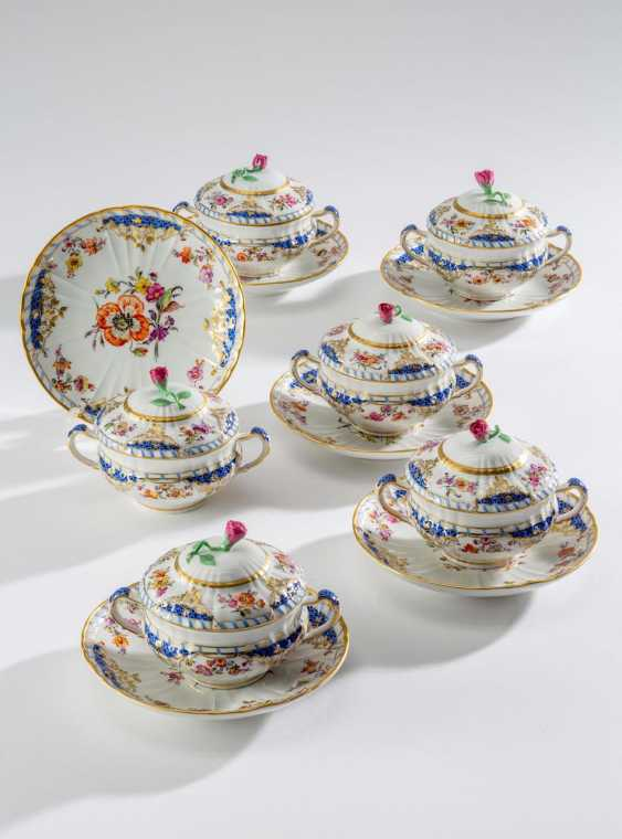 6 soup cups with lid, - photo 1