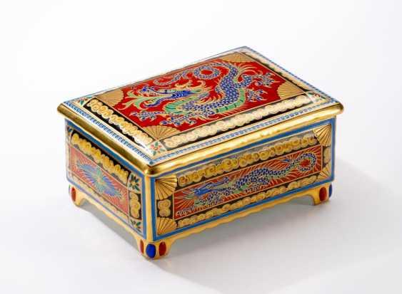 Magnificent lidded box of KPM Berlin. - photo 2