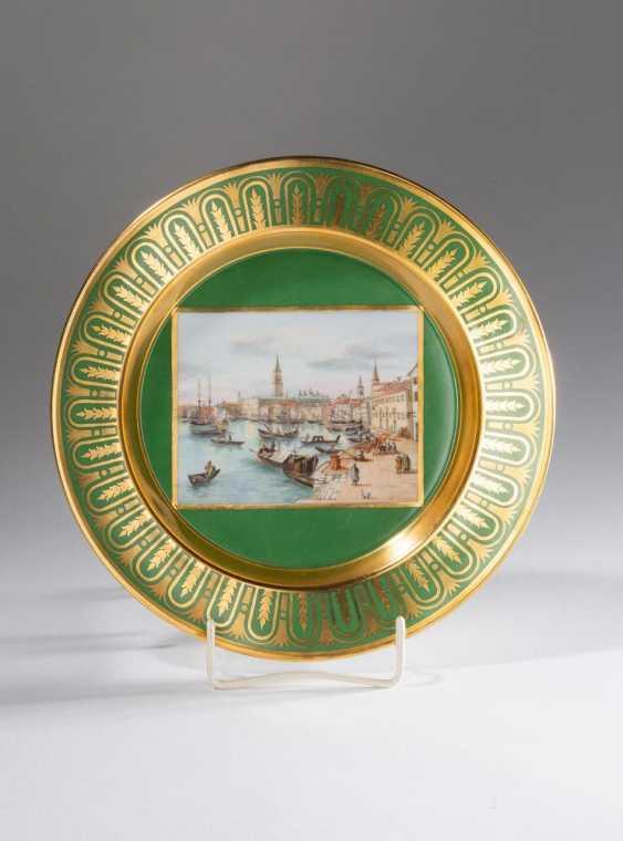 "Plate ""Venice"" of KPM Berlin - photo 1"