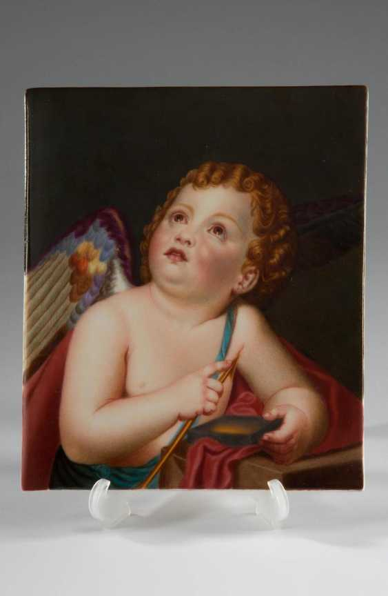 "Porcelain image of the ""dreams of Putto"", KPM. - photo 1"