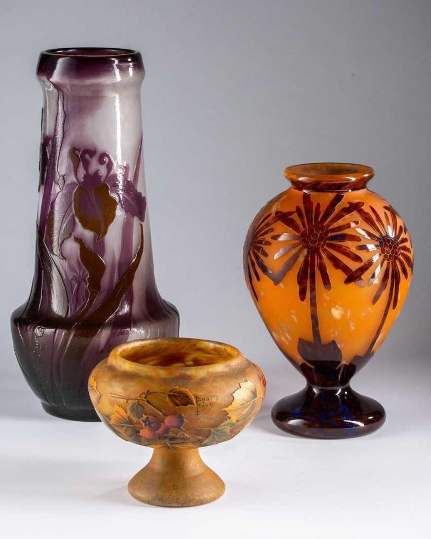 Art Nouveau Vase, Daum Nancy, - photo 2