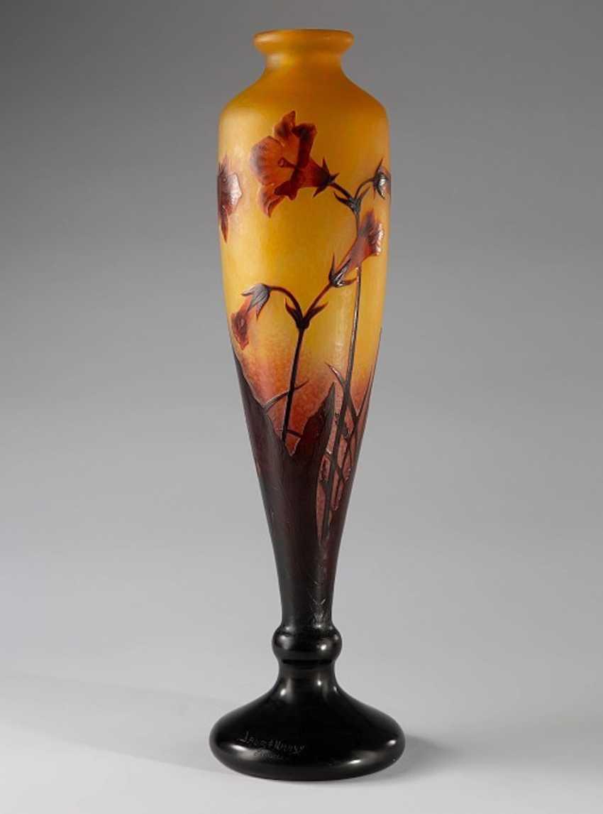 Large Vase Daum Nancy - photo 1