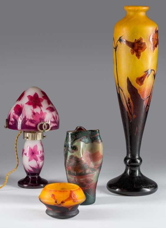 Large Vase Daum Nancy - photo 2