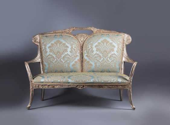 Art Nouveau Sofa, - photo 1
