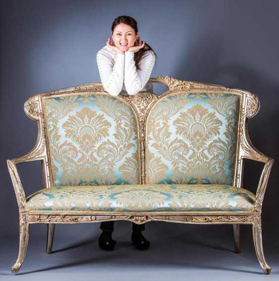 Art Nouveau Sofa, - photo 2