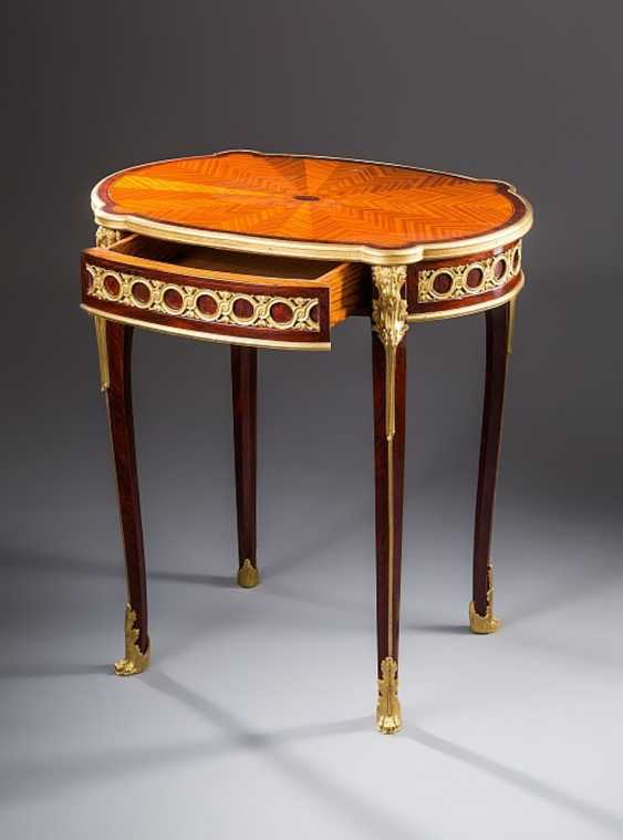 Oval Side Table - photo 1